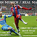 Bayern Munich ~ Real Madrid