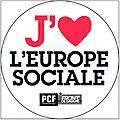 J'aime l'Europe Sociale