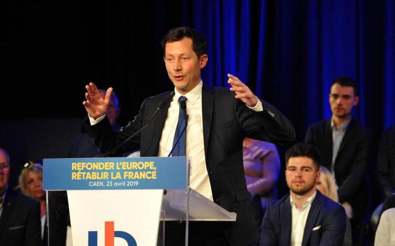 Elections européennes: le passage remarqué de François-Xavier BELLAMY le 23 avril 2019 à CAEN