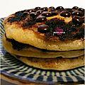 ..pancakes aux pépites de chocolat (ou comment sauver un pti déj' en péril !)..