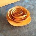 Tuto fleurs en papier ou tissu