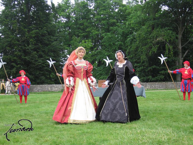 Louise de Savoie et Marguerite d'Angoulême