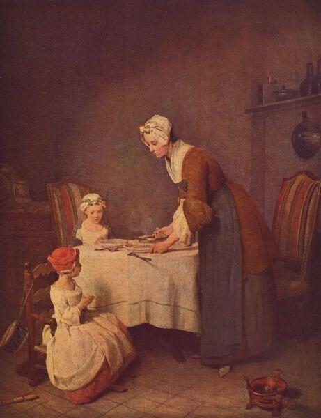 Jean Siméon Chardin - Le Bénédicité