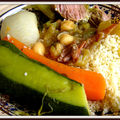 Le couscous de mon enfance, the beef and vegetable couscous from my childhood