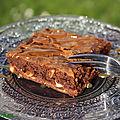 Le brownie aux noisettes