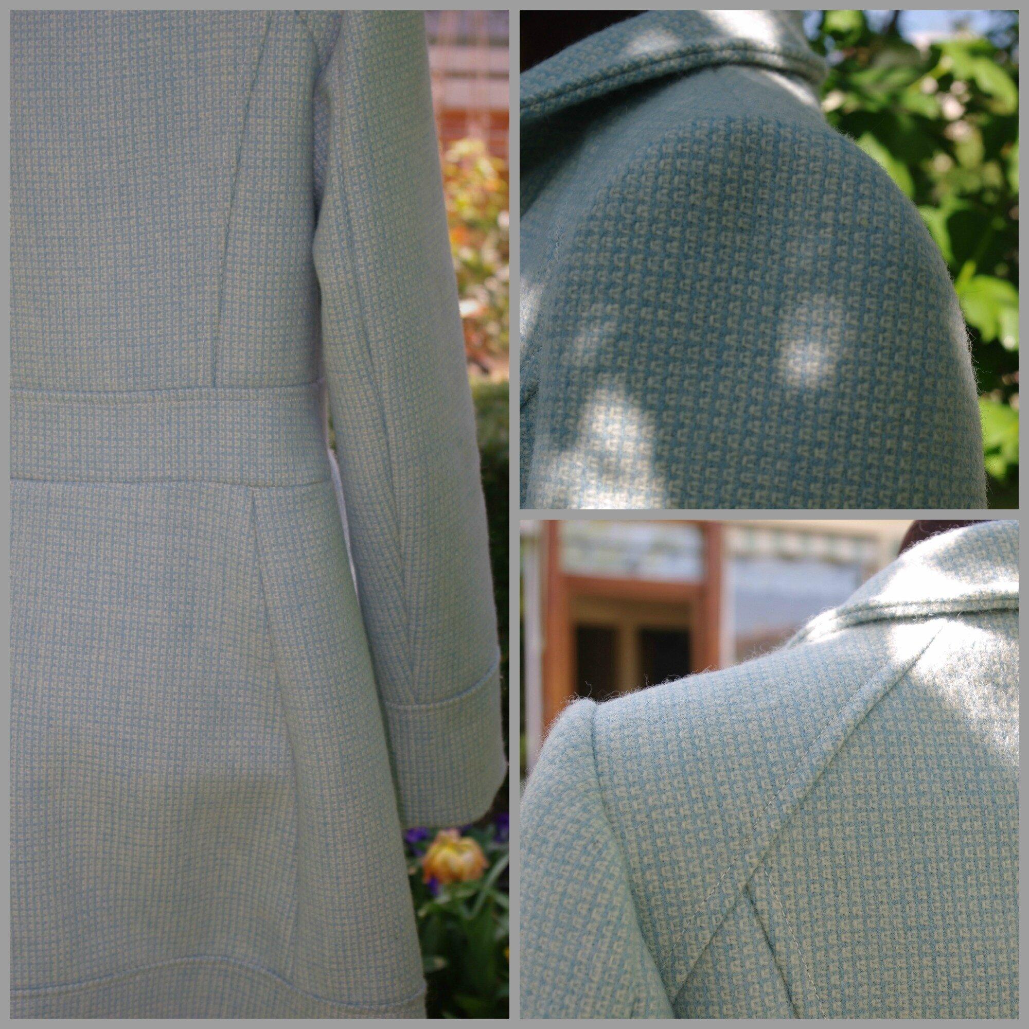 En Mai....le manteau est encore d'actualité!