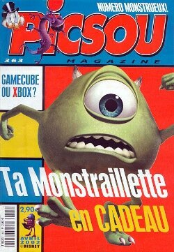 Magazie Picsou n°363 + Monstraillette
