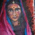 Indienne rose1