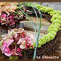 Art floral mercredi 19 octobre, l'aperçu...