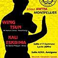 Wing tsun enfants, ados, adultes et eskrima