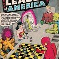 Swipes de justice league of america #1