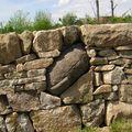 mur de séparation à Valprivas
