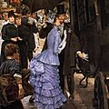 LE PEINTRE <b>JAMES</b> <b>TISSOT</b>, LE RETOUR EN FRANCE, QUATRIEME PARTIE