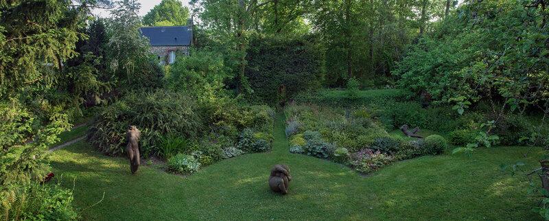 pano jardin sculpt
