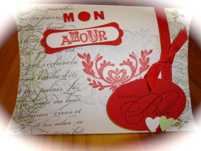 Boîte berlingot St Valentin