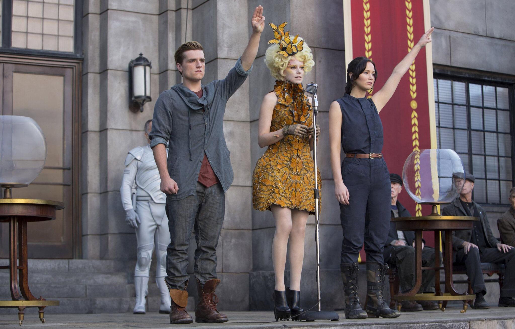 Katniss d'Hunger Games : une héroïne National-Anarchiste ?