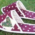 Une paire de chaussons...