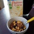 Cuisine: granola allégé en sucre (pomme raisin)