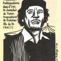 Le patrimoine de Kadhafi - Charlie Hebdo N°982 - 13 avril 2011