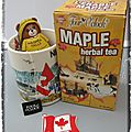 Happy canada day tisane à l'érable four o'clock