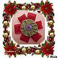 broche yoyo de Noël