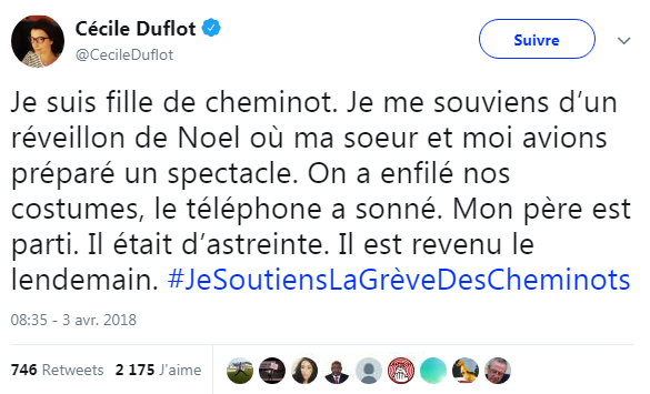 Tweet Duflot
