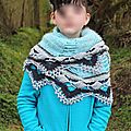 Open space shawl ~ sylvie damey #2