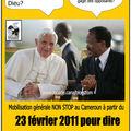Mobilisation générale au cameroun le 23 février prochain pour dire paul biya dégage