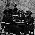 1858-1862 Gendarmes jouant aux cartes