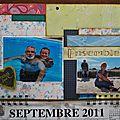 Septembre et novembre du calendrier 2011 !!