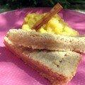 Shortbread aux épices et compotée de pommes aux clémentines (Papilles et pupilles)