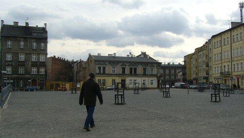 Monument sur le site de l'ancien ghetto