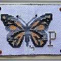 156 ATC P comme Papillon