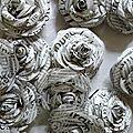 Brassée de roses littéraires
