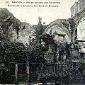 Nantes ancien - Ancien couvent des Cordeliers
