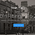 Dublin rising 1916-2016 on google maps