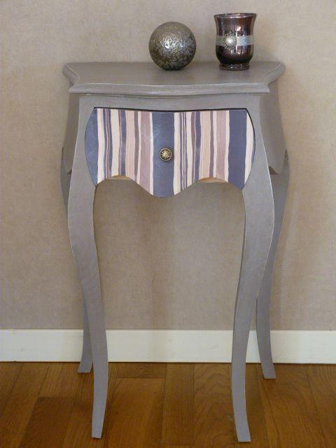 """Table De Chevet """"Graine De Pavot"""" - Decor'In Idées & Conseils"""