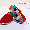 Chaussons rouges Elmer