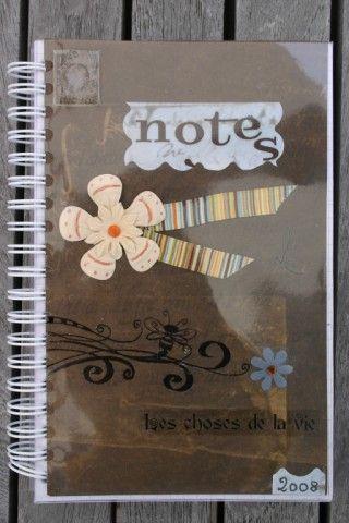 Carnet Notes marron