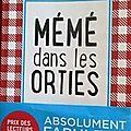 <b>Mémé</b> dans les <b>orties</b> d'Aurélie Valognes