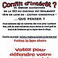Mars 2014 - programmes des candidats à la mairie de bombon