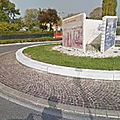 Rond-point à Riccione (Italie)