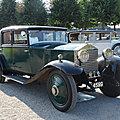 <b>ROLLS</b> ROYCE 20HP H.J. Mulliner Weyman Saloon 1927