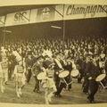 [1970] Les majorettes avant le match
