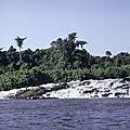 Cameroun - Années 80 (12/34). Ouest Cameroun - Chutes d'eau entre Bamenda et Yaoundé.