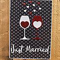 Carte de <b>félicitations</b> pour un mariage