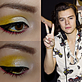 Maquillage coloré, inspiration one direction !