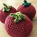 Tomates au crochet