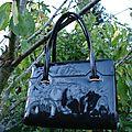 Joli sac vintage style kelly vendu