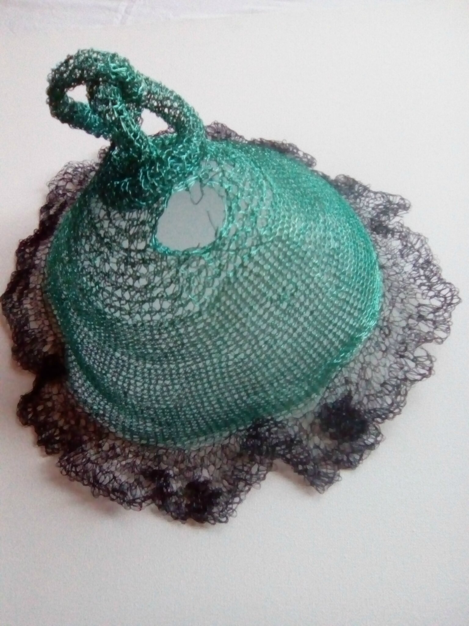 Crochet, fil laiton 0.5mm
